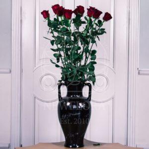 Букет 11 красных роз высотой 130см