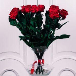 Букет 11 ароматных стабилизированных роз