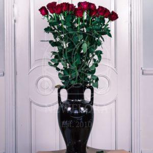 Букет 19 красных роз 130см