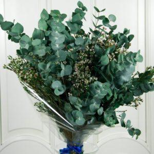 Букет ароматной зелени с ваксфлауэр