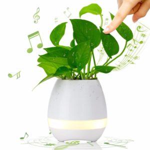 Умный музыкальный горшочек для цветов