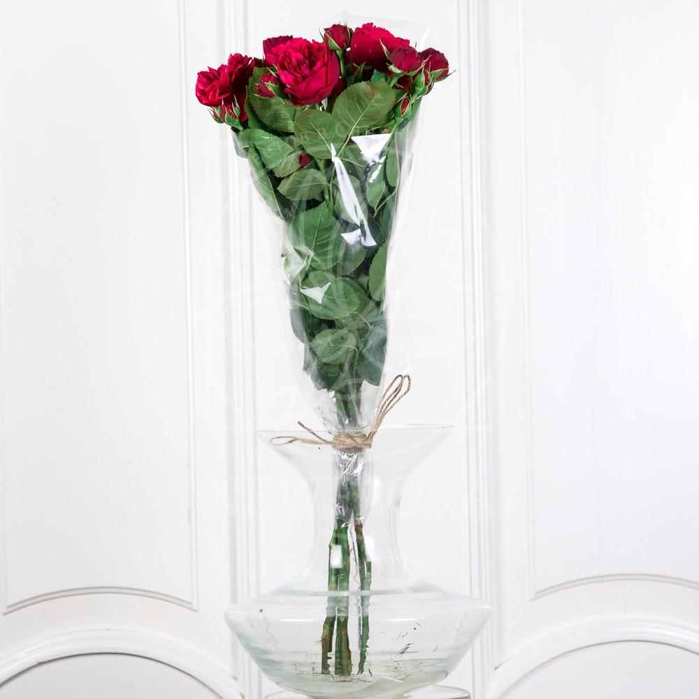 Букет 5 кустовых пионовидных роз