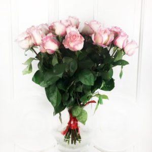 Букет 21 розовая роза Boulevard (Premium)