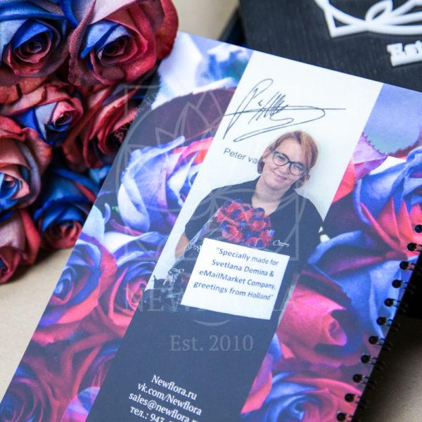 Производство роз уникальной расцветки (розы в цвет бренда)