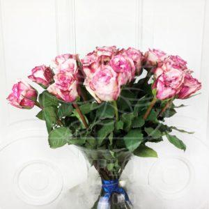 Букет 25 ароматных роз Pink Ohara