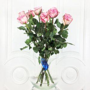 Букет 9 ароматных роз Pink Ohara