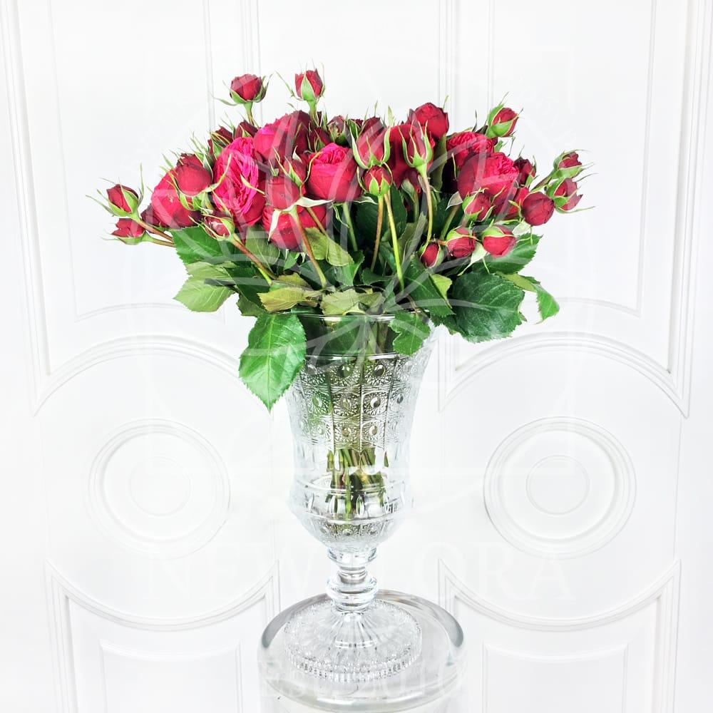 Хрустальная ваза 50см