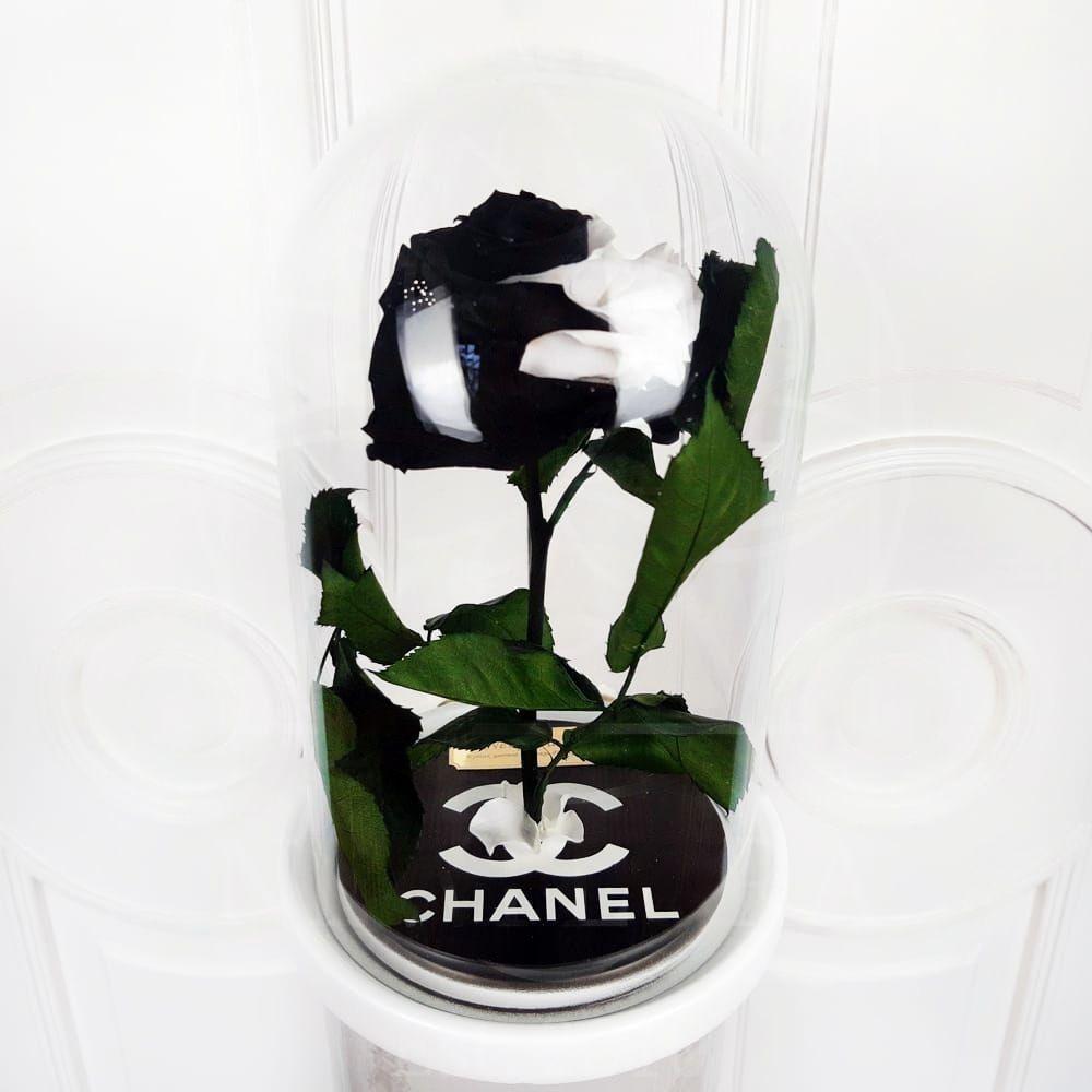 Брендированные розы в колбе (под заказ)