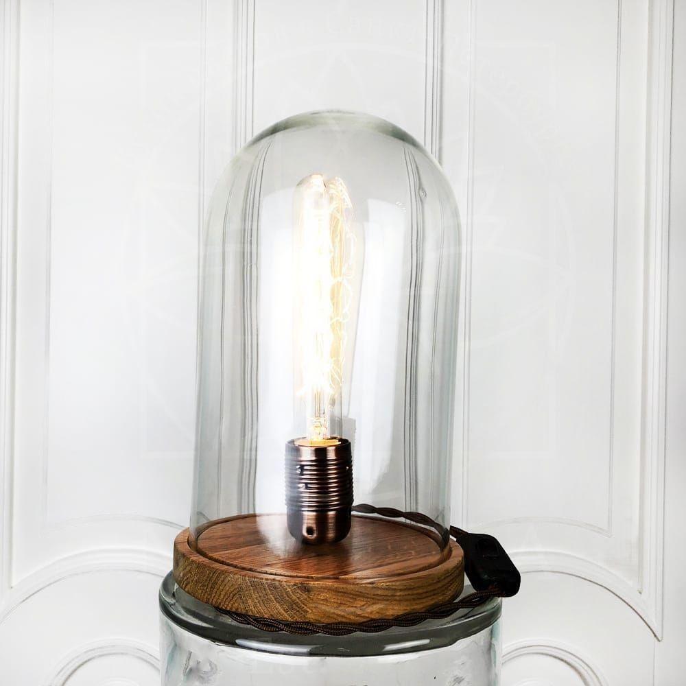 Ретро светильник лампа Эдисона в колбе