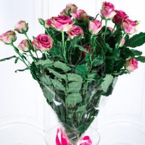 Букет 9 кустовых роз (Premium)