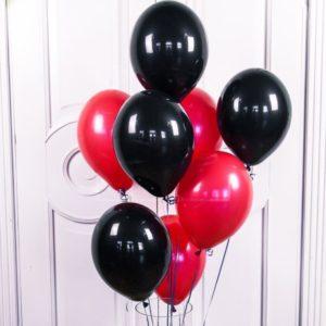 Черные воздушные шары (поштучно)