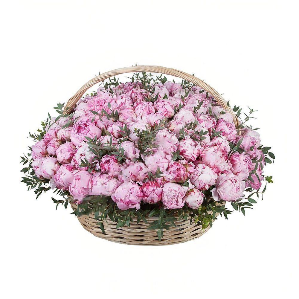 Цветов город, купить цветы в корзине недорого москве