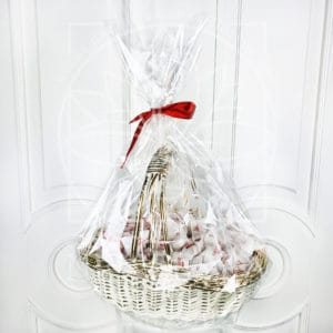 Набор 100 конфет Raffaello (Раффаэлло) в корзине 40см