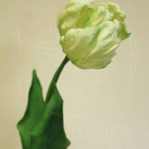Керамические тюльпаны из полимерной глины