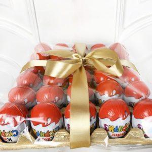 Набор 30 шоколадных яиц Киндер Сюрприз (kinder surprise)