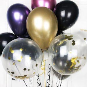 Воздушные шары с конфети