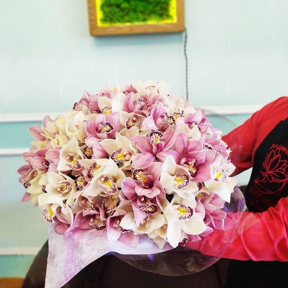 Небеса, купить букет орхидей в калининграде