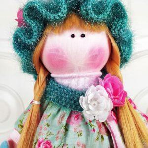 Кукла с косичками 35см