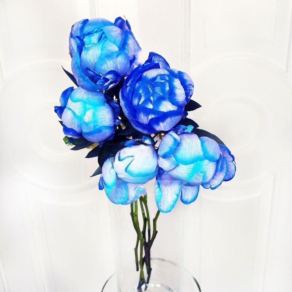 Голубые пионы (поштучно)