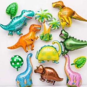 Набор фольгированных шаров с динозаврами