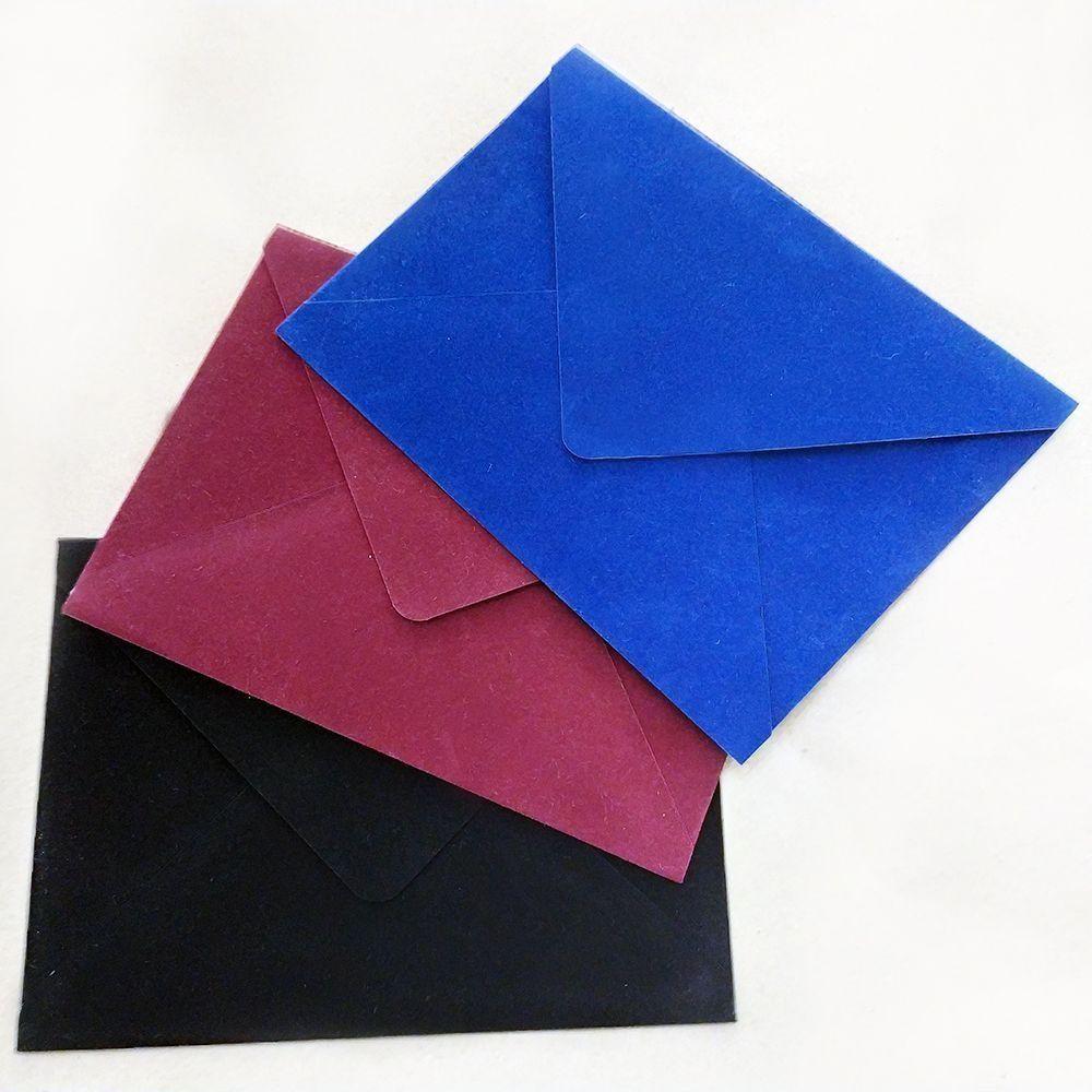 Конверты бархатные (цвет на выбор)