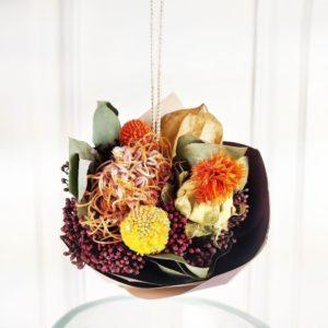 Миниатюрные букеты сухоцветов (пример)