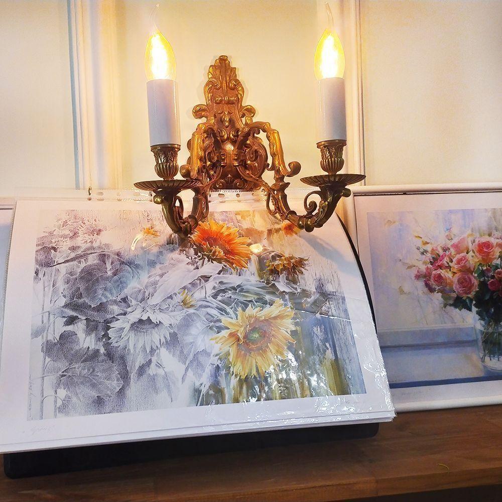 Постер картины художника Олега Тимошина «подсолнухи»
