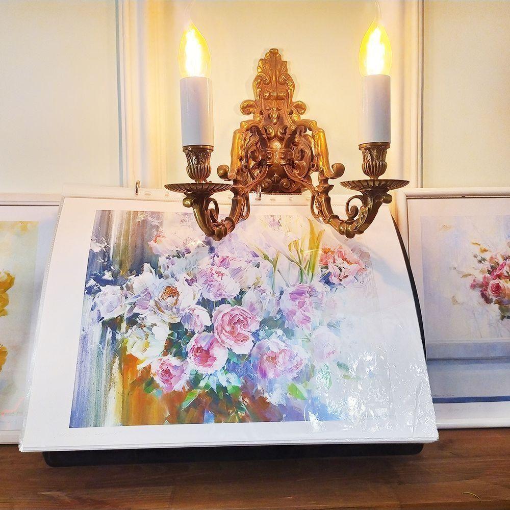 Постер картины художника Олега Тимошина «розы»
