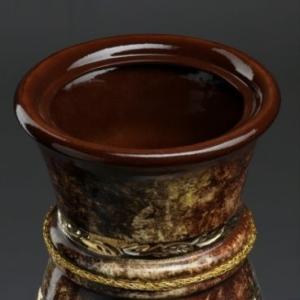 Ваза напольная «золотая» высота 65см (керамика)